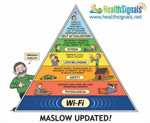 Updated Maslow's Pyramid.
